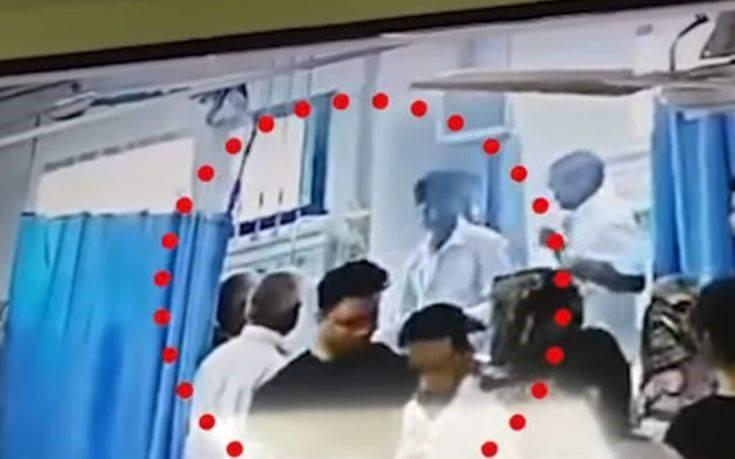 Σοκαριστικό βίντεο: Κεφάλι γυναίκας εξερράγη κατά τη διάρκεια επέμβασης