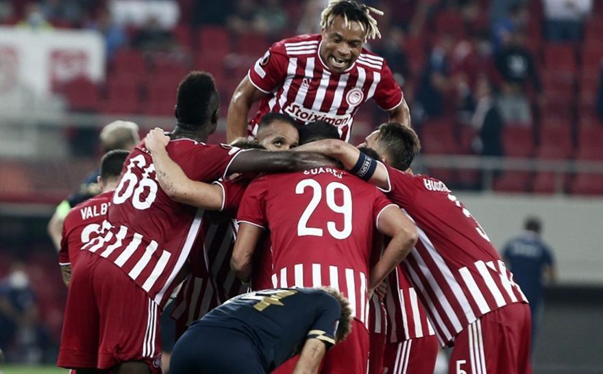 Europa League: Ο Ολυμπιακός επικράτησε 2-1 της Αντβέρπ