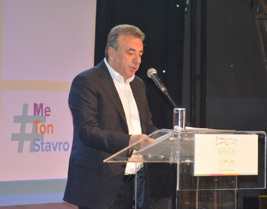 Πλήθος κόσμου στην παρουσίαση των υποψηφίων του συνδυασμού «Κρήτη η Ζωή μας» του Σταύρου Αρναουτάκη