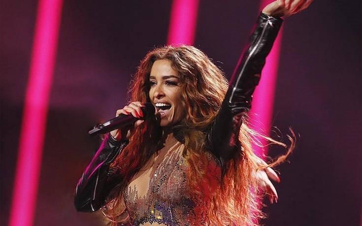Η εντυπωσιακή εμφάνιση της Φουρέιρα πριν τον τελικό της Eurovision